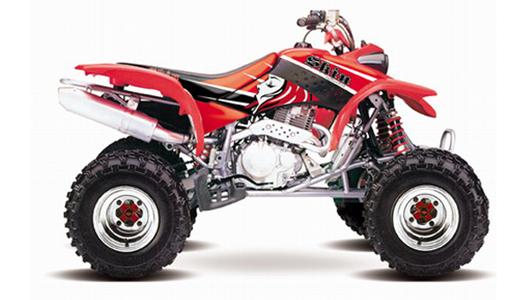 Avis quad HM HONDA TRX 450 R