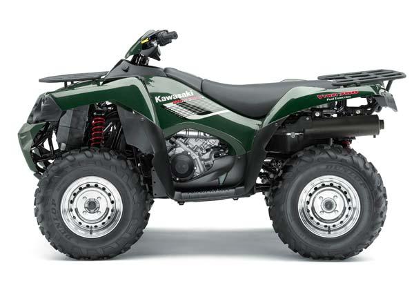 Avis quad Kawasaki KVF 750