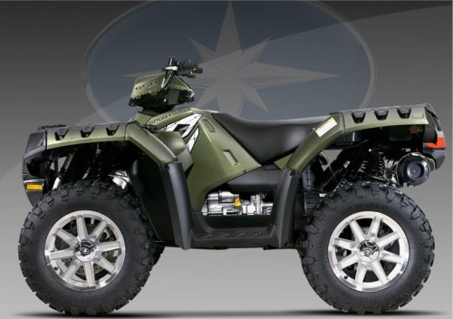 quad polaris 550 xps forest