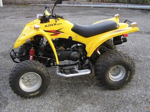 Avis quad ADLY 150 Thunderbike