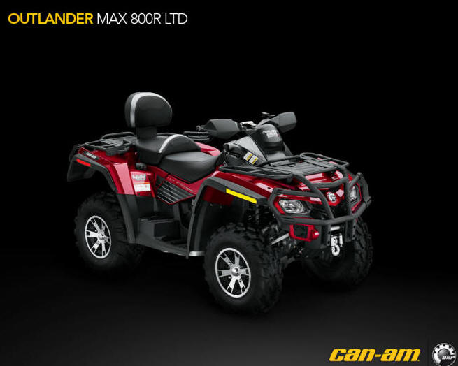 Avis quad CAN-AM Outlander 800R MAX LTD
