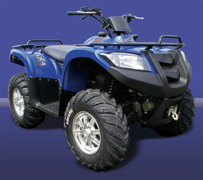 Avis quad LONCIN LX 500