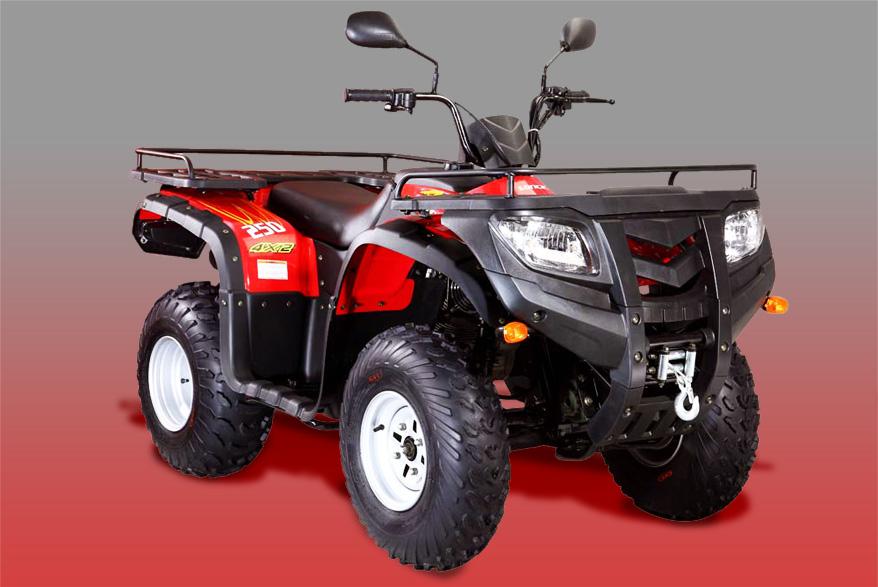 Avis quad LONCIN LX 250 4x2