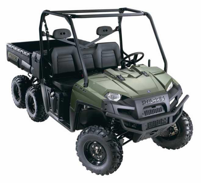 Avis quad POLARIS Ranger 500 6x6