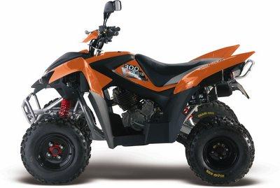 Avis quad ADLY 300 XS
