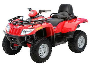 Avis quad ARCTIC CAT 500 TRV