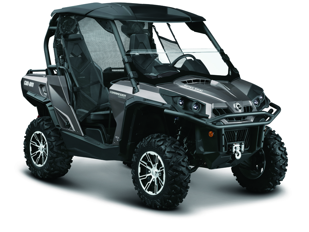 Avis quad CAN-AM Commander 1000 Limited