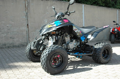 Avis quad MASAI D-460 Demon Evo