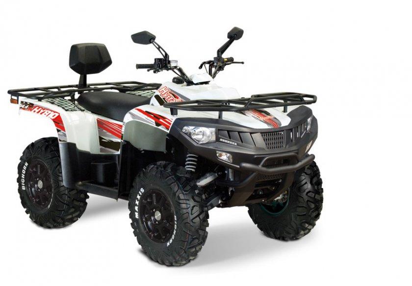 Avis quad Hytrack HY 810 EFI