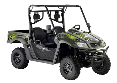 Avis quad Kymco UXV 500 Green Line