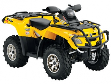 Avis quad CAN-AM Outlander 650 XT