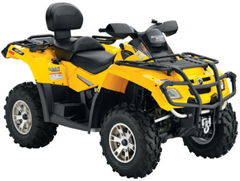 Avis quad CAN-AM Outlander 800 MAX XT