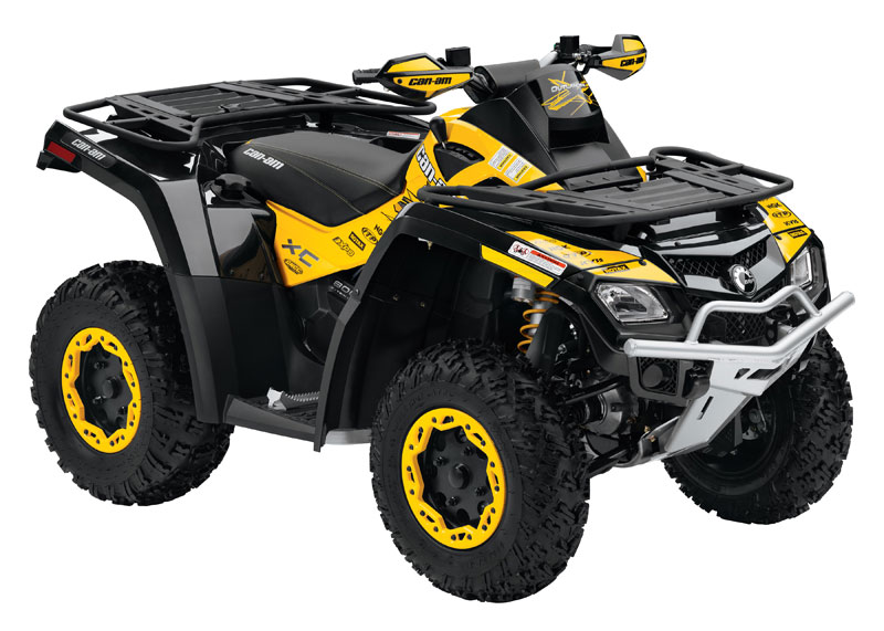 Avis quad CAN-AM Outlander 800R X xc