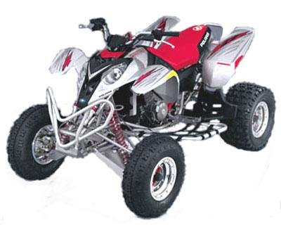 Avis quad POLARIS Predator 500