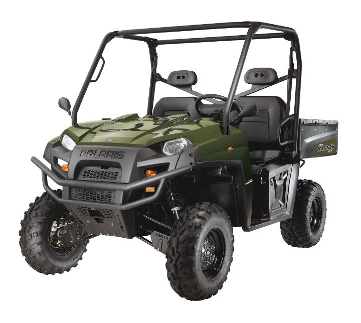 Avis quad POLARIS Ranger 500