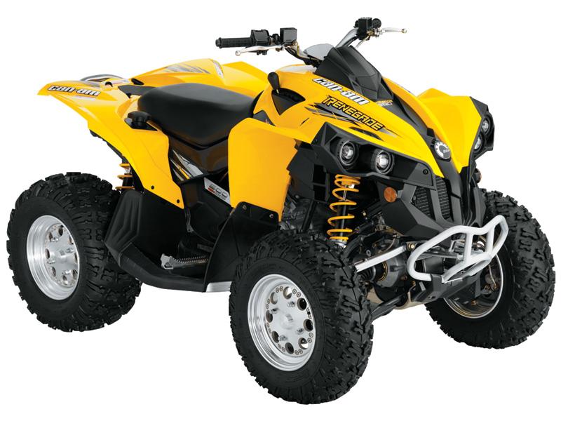 Avis quad CAN-AM Renegade 500