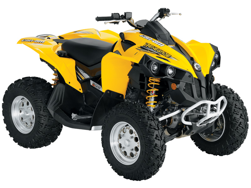Can-Am Outlander/Renegade 500/650/800 Series Repair Se ...