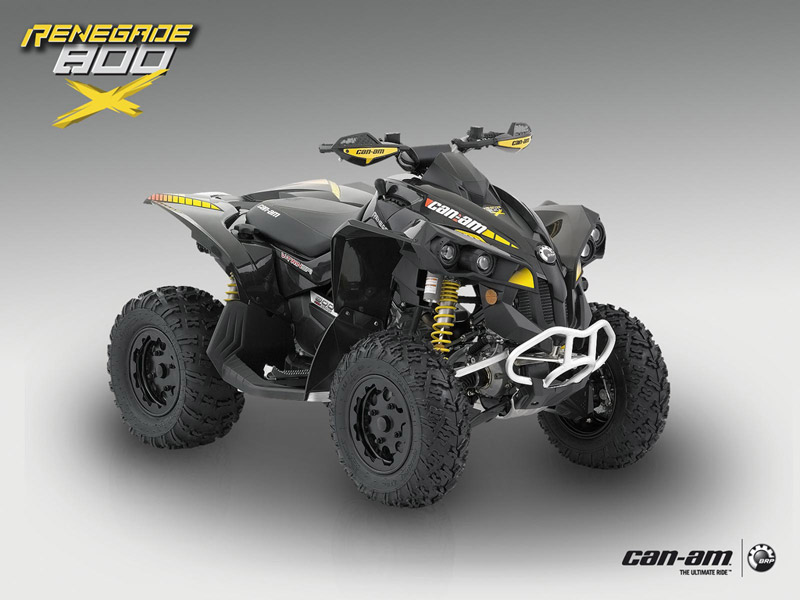 can am renegade 800 x guide d 39 achat quad. Black Bedroom Furniture Sets. Home Design Ideas
