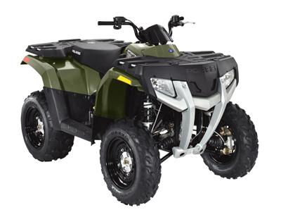 Avis quad POLARIS Sportsman 400