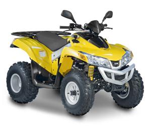Avis quad Sym Quadlander 300 S