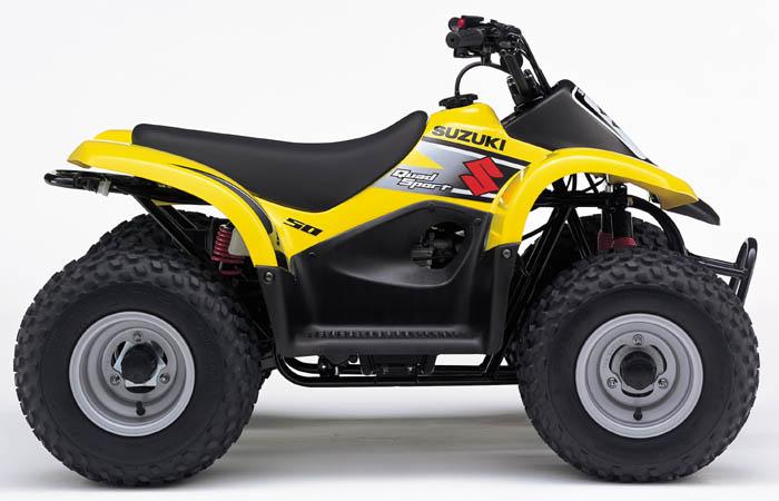 Avis quad Suzuki LT-A 50