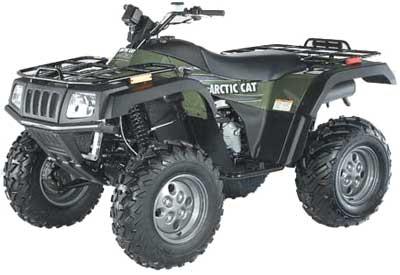Avis quad ARCTIC CAT 400 i