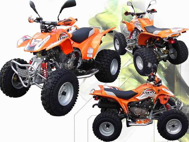 Avis quad AXR 300 SP