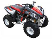 Avis quad BAROSSA 250 Quaterback II