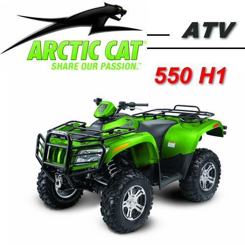 Avis quad ARCTIC CAT 550 H1 EFI