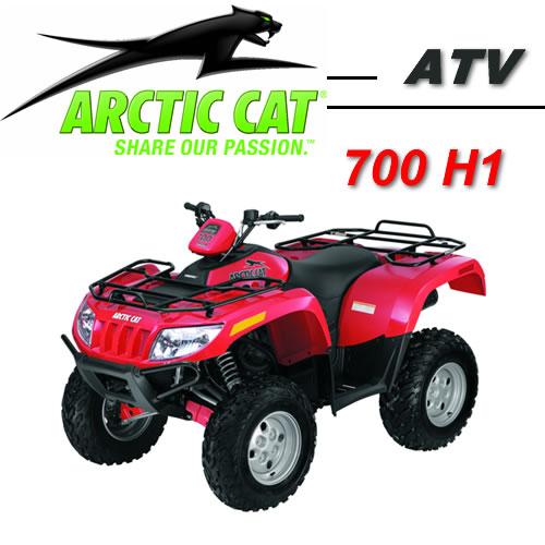 Avis quad ARCTIC CAT 700 H1 EFI EFT