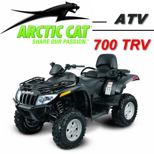Avis quad ARCTIC CAT 700 H1 EFI TRV EFT