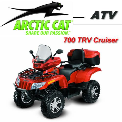 Avis quad ARCTIC CAT 700 H1 EFI TRV EFT Cruiser