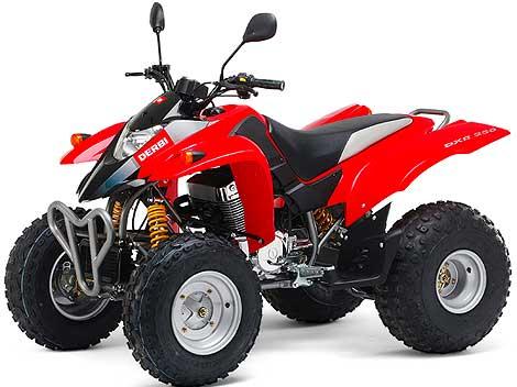 Avis quad DERBI DXR 250