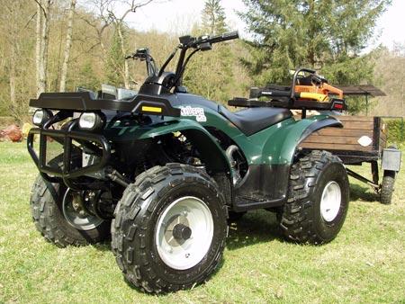 Avis quad E-TON Challenger 150