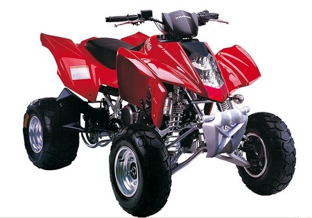 Avis quad Hyosung TE 450
