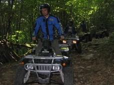 randonnées quad lot : les quads du Segala