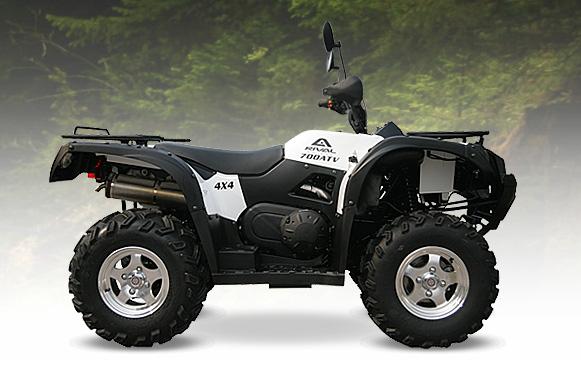 Avis quad Rival Motors Intrepid 700