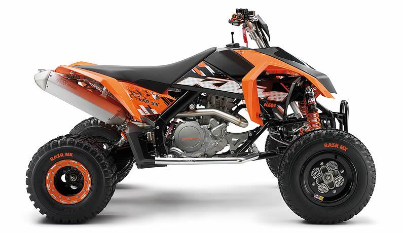 Avis quad KTM 505 SX-F