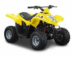 Avis quad Kymco KXR 50