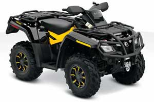 Avis quad CAN-AM Outlander 800R XT-P