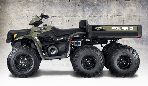 Avis quad POLARIS Sportsman 500 6x6