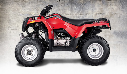 Avis quad POLARIS Sawtooth 200 Quad