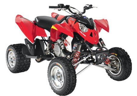Avis quad POLARIS Outlaw 450 MXR