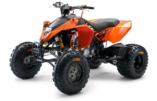 Avis quad KTM 450 XC