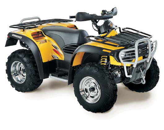 Avis quad CAN-AM Traxter 500 XT