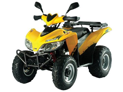 Avis quad Sym Quadlander 200 (ex trackrunner)