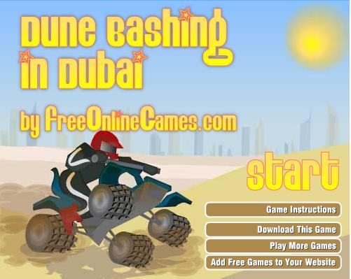 Jeu Dune Bashing in Dubai
