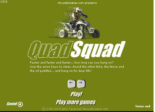 Jeu quad
