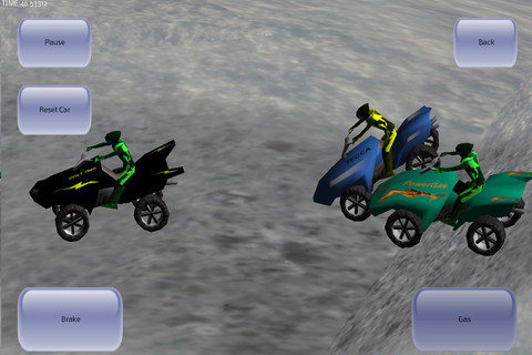 Jeu 3D ATV Racer sur Iphone