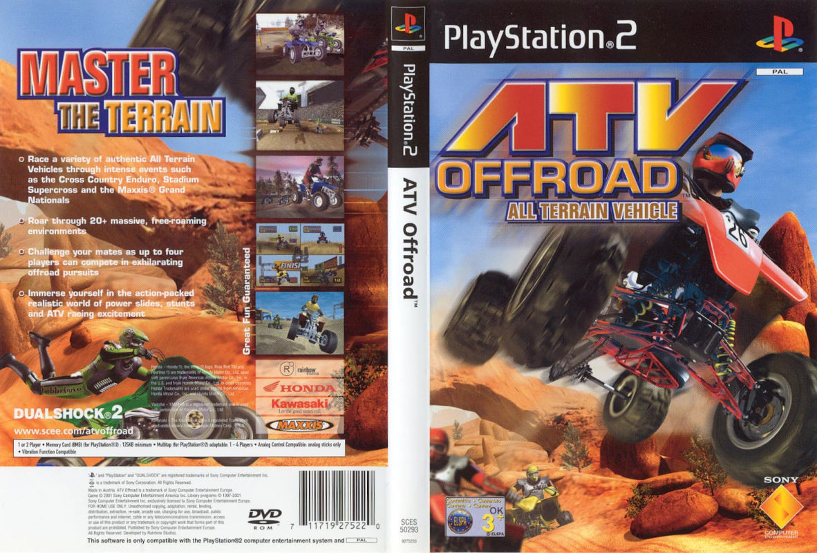 Jeu ATV Off Road sur PlayStation 2